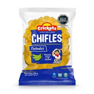 Chifles  - Salted Bananchips 200g