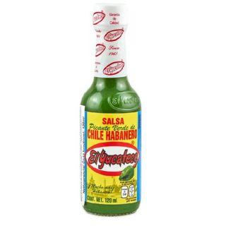 "Grøn Salsa med Habanero Chili ""El Yucateco"" 120ml"