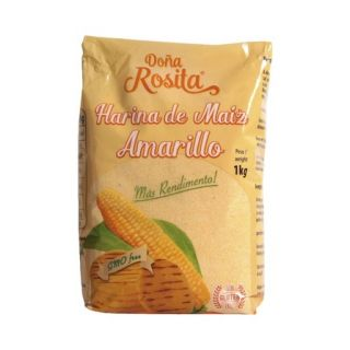 "Forkogt Gul Majsmel ""Doña Rosita"" 1kg - GMO Free"