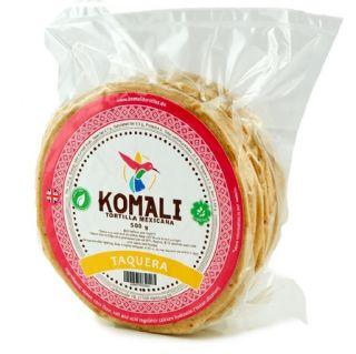 Tortilla Komali Taquera 12 cm  500g