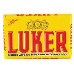 "Bitter Chokolade ""Luker"" 250g"