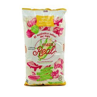 "Nixtamaliseret Hvid Majsmel ""Maza Real"" 1Kg. GMO Free"