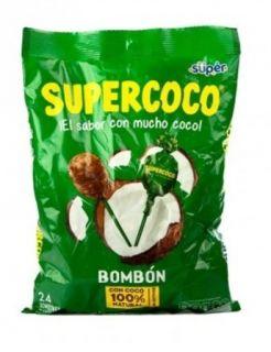 Bombom Super Coco Slikkepinde 24stk - 360g