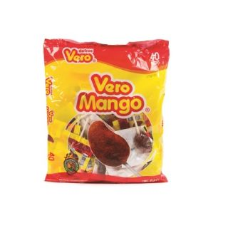 Mango med Chili Slikkepinde 40 stk. - 648g