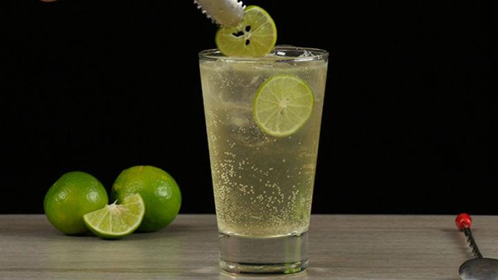 Ginger Ale cocktail op zijn best!